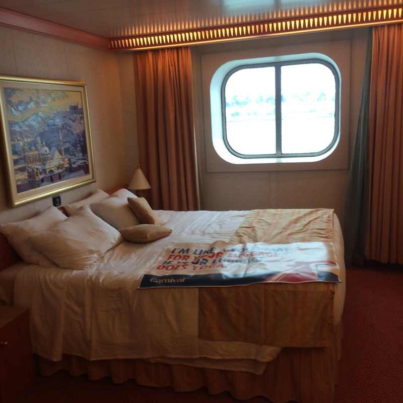 Oceanview Cabin 2379 On Carnival Splendor, Category 6C