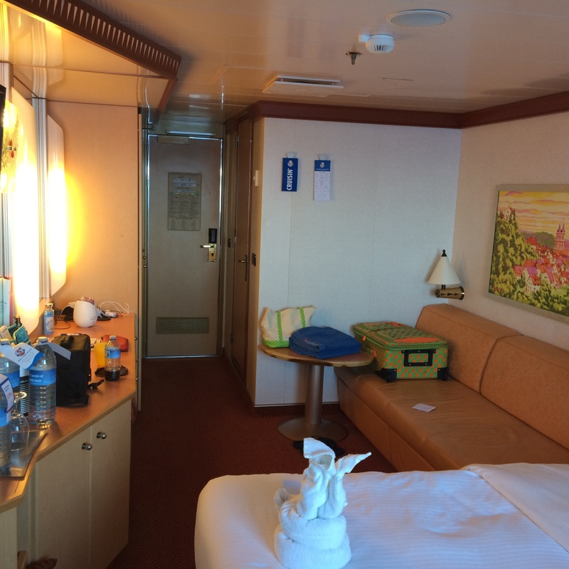 Balcony Cabin 6331 on Carnival Dream, Category 8B