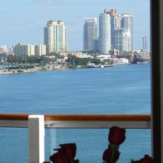 Miami, Florida - Balcony view