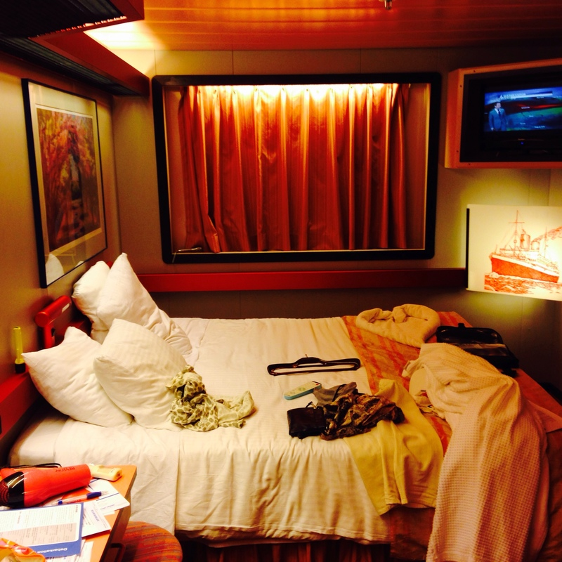 Interior Stateroom on Carnival Paradise