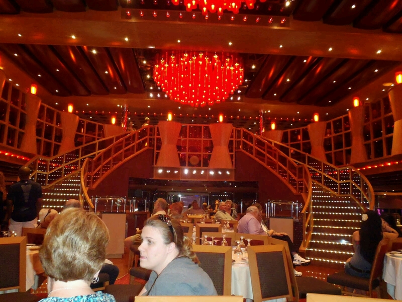 Crimson Lounge 1 & 2 Restaurant Annex on Carnival Dream