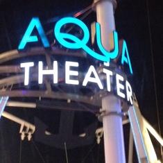 AquaTheater on Oasis of the Seas