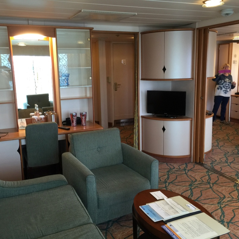 Royal Family Suite with Balcony on Splendour of the Seas