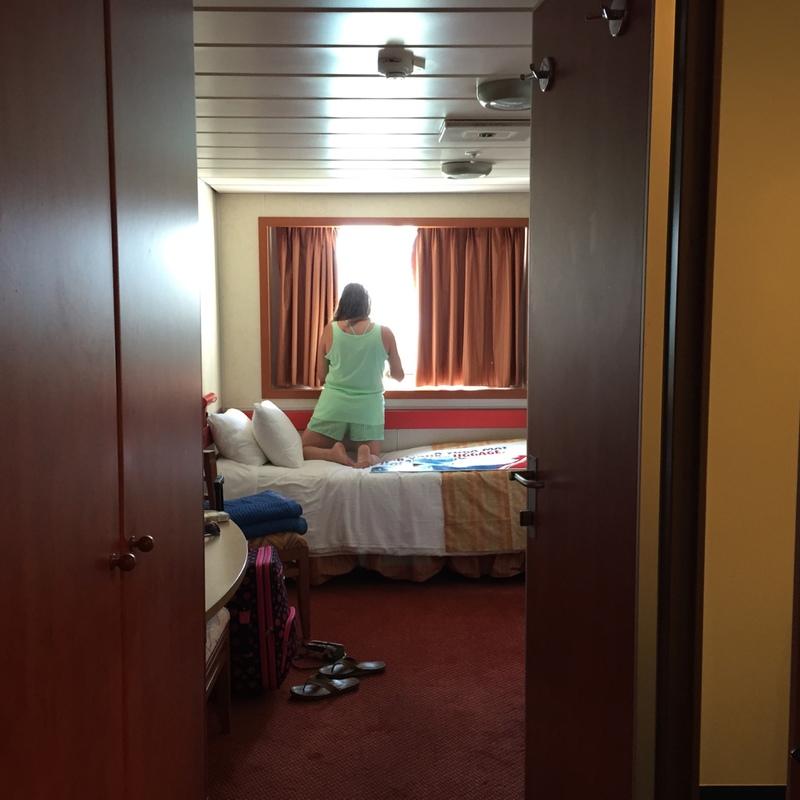 Oceanview Cabin E79 On Carnival Sensation Category 6e