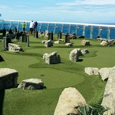 Dunes Mini Golf on Liberty of the Seas