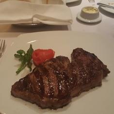 Cagney''s Steakhouse on Norwegian Gem