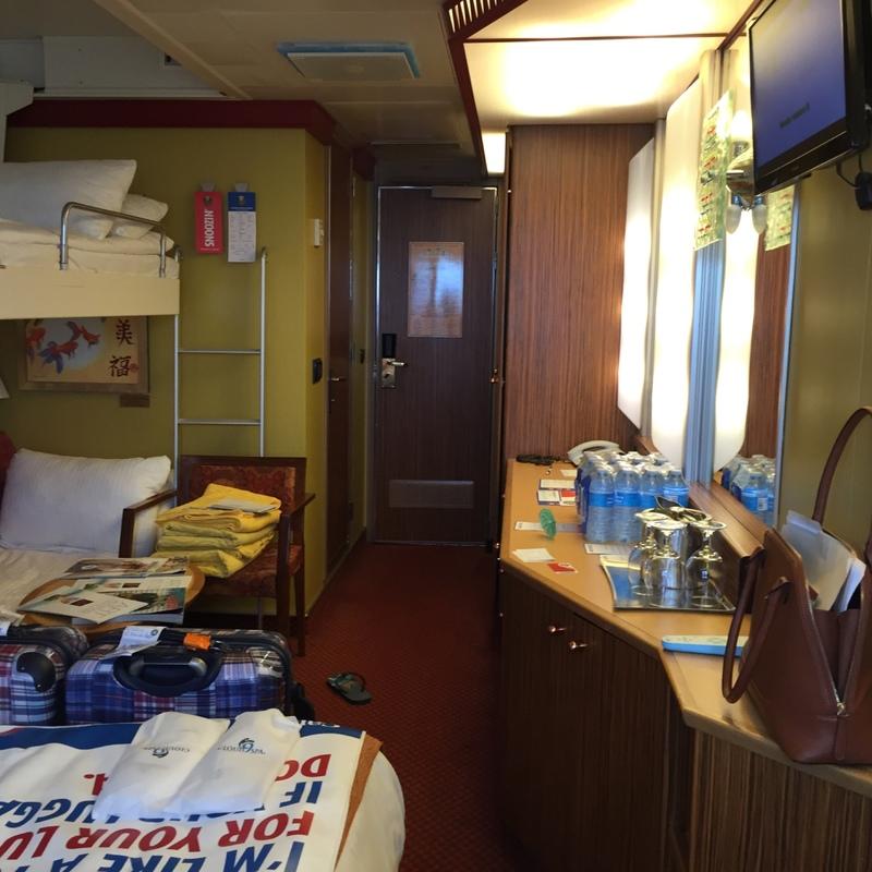 Carnival Splendor cabin 1115