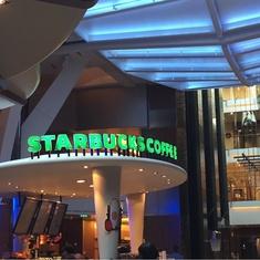 Starbucks on Oasis of the Seas