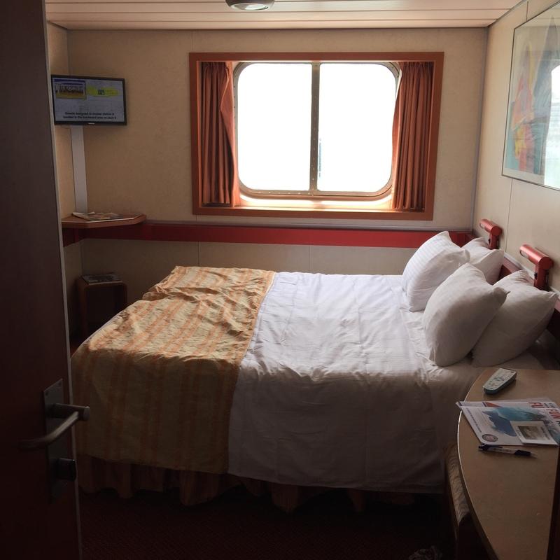 Oceanview Stateroom on Carnival Sensation