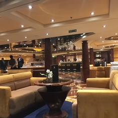 Top Sail Lounge on MSC Fantasia