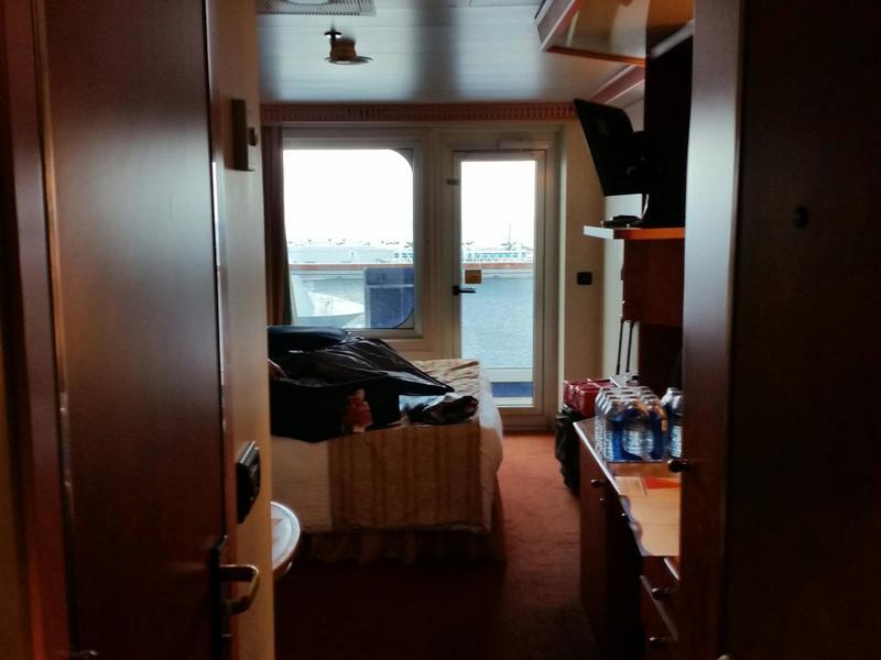 Balcony Cabin 8281 On Carnival Valor Category 8d