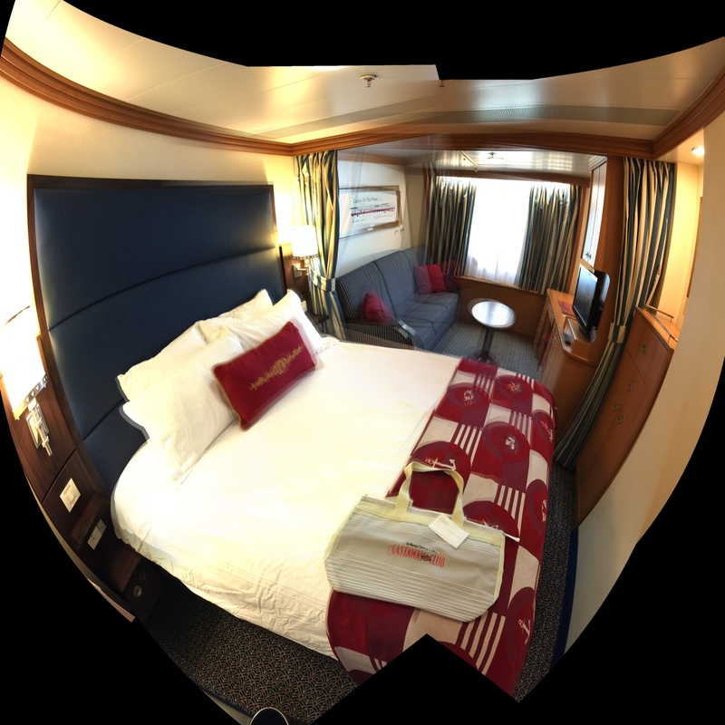 Deluxe Oceanview Stateroom Cabin Category Q9 Disney Magic