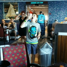 Guy''s Burger Joint on Carnival Glory