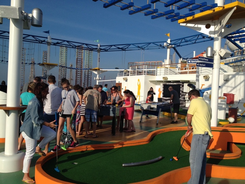 Carnival Magic, Sports, Mini Golf