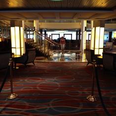Grand Foyer on Celebrity Equinox