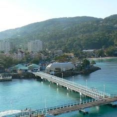 Ocho Rios, Jamaica - Entering Ocho Rios