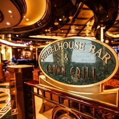 Wheelhouse Bar on Royal Princess