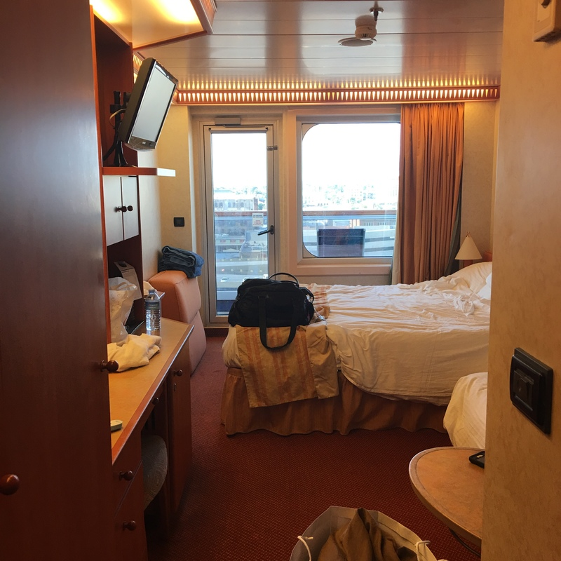 Carnival Liberty cabin 1058