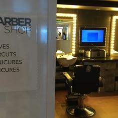 Barber Shop on Norwegian Breakaway
