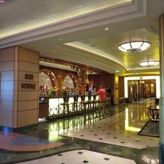 Concierge Lounge on Disney Fantasy