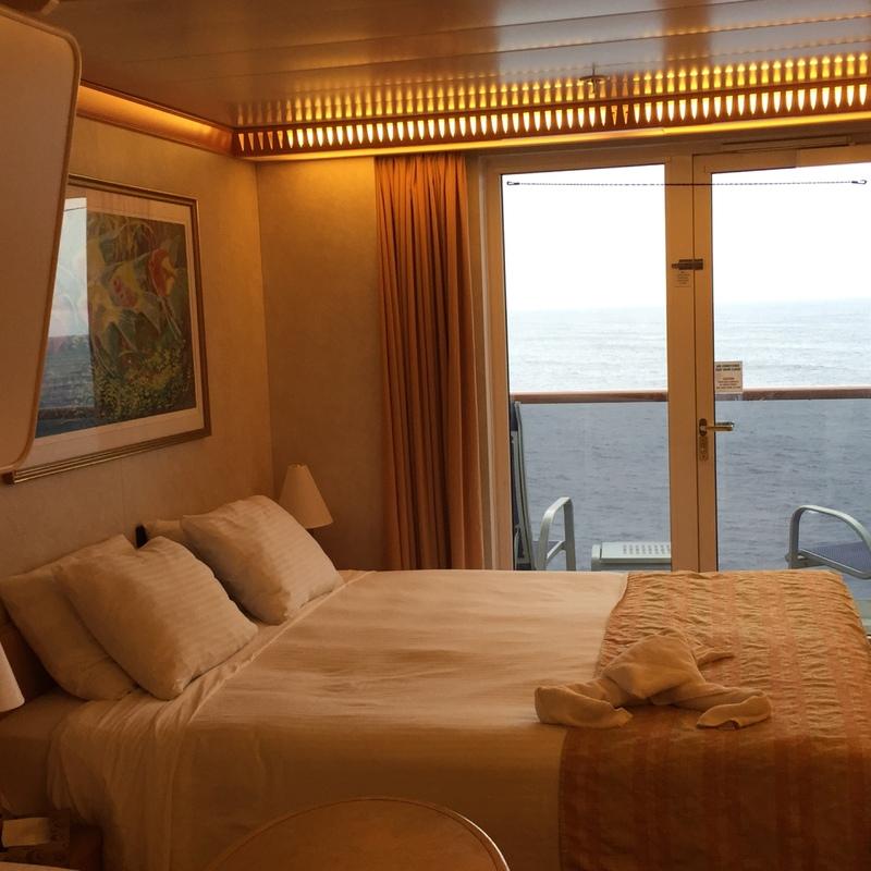 Balcony Cabin 7271 On Carnival Spirit Category 8e