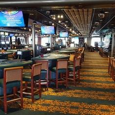 Monte Carlo Casino on Carnival Inspiration
