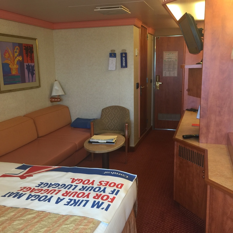 Balcony Stateroom, Cabin Category 8C, Carnival Glory