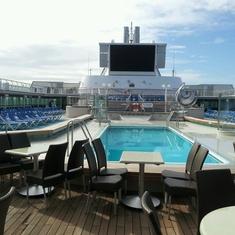 Riviera Pool on Sea Princess