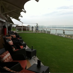 Patio on the Lawn on Celebrity Silhouette