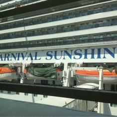 Main Lounge Bar on Carnival Sunshine
