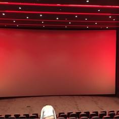 IMAX Theater on Carnival Vista