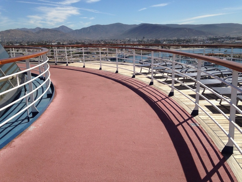 Carnival Imagination, Spa/Fitness, Jogging Track