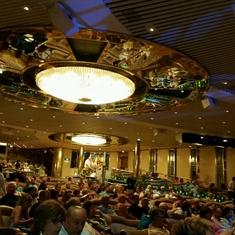 Theatre on Splendour of the Seas