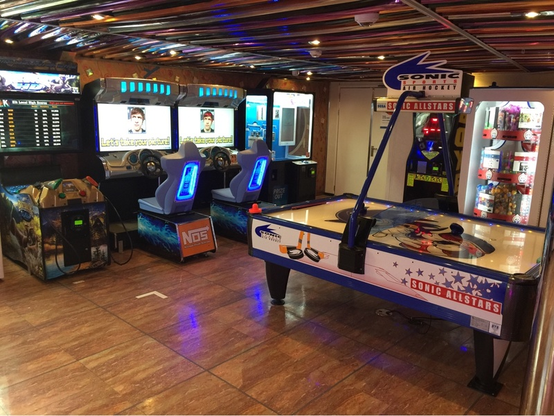 Real Virtuality Video Arcade on Carnival Pride