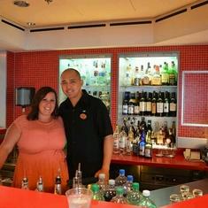Sake Bar on Norwegian Dawn