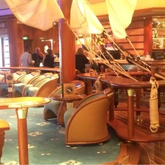 Schooner Bar on Liberty of the Seas