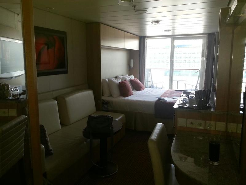 Balcony Cabin 8156 On Celebrity Solstice Category 1c