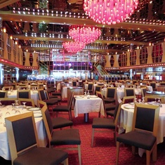 Scarlet Restaurant on Carnival Dream