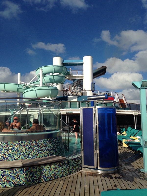 Carnival Pride, Pools, Hot Tubs