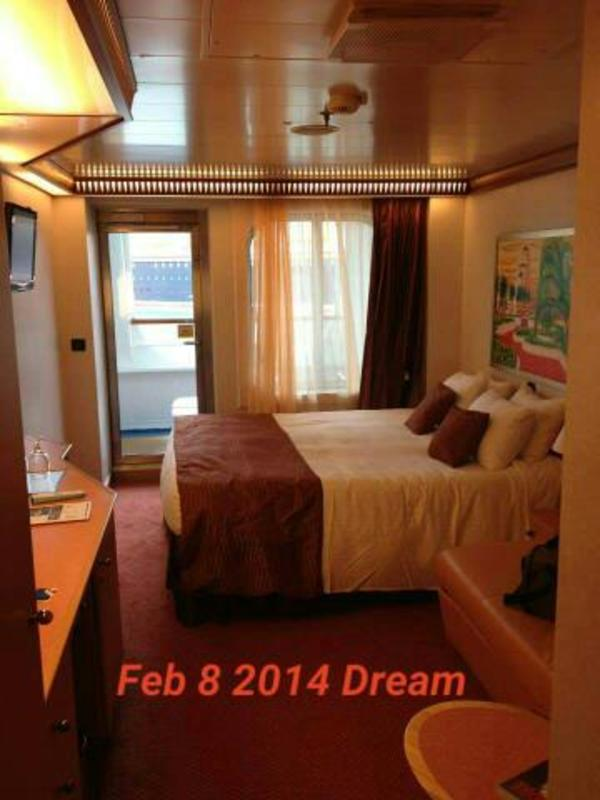 Balcony Cabin 2435 On Carnival Dream Category 7c
