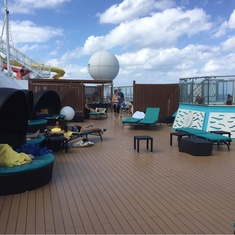 Serenity on Carnival Breeze