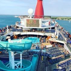 Slide Entrance on Carnival Freedom