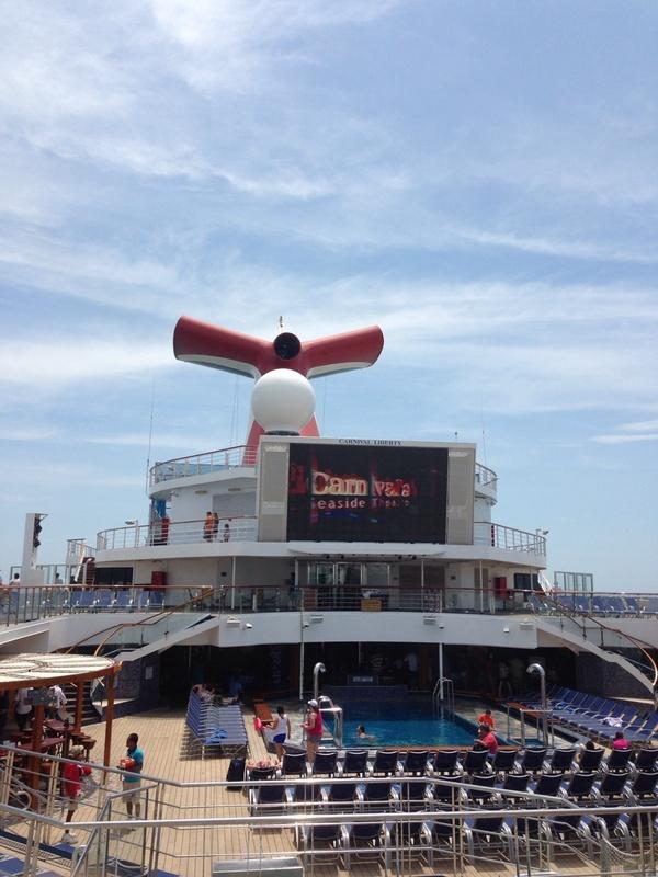 Carnival Liberty deck - Carnival Liberty