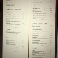 Mama''s Italian Restaurant on Norwegian Jewel