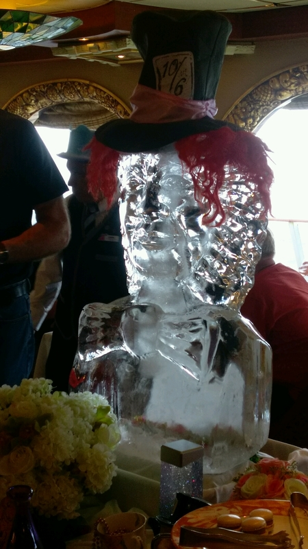 Mad Hatters High Tea Party - Carnival Spirit