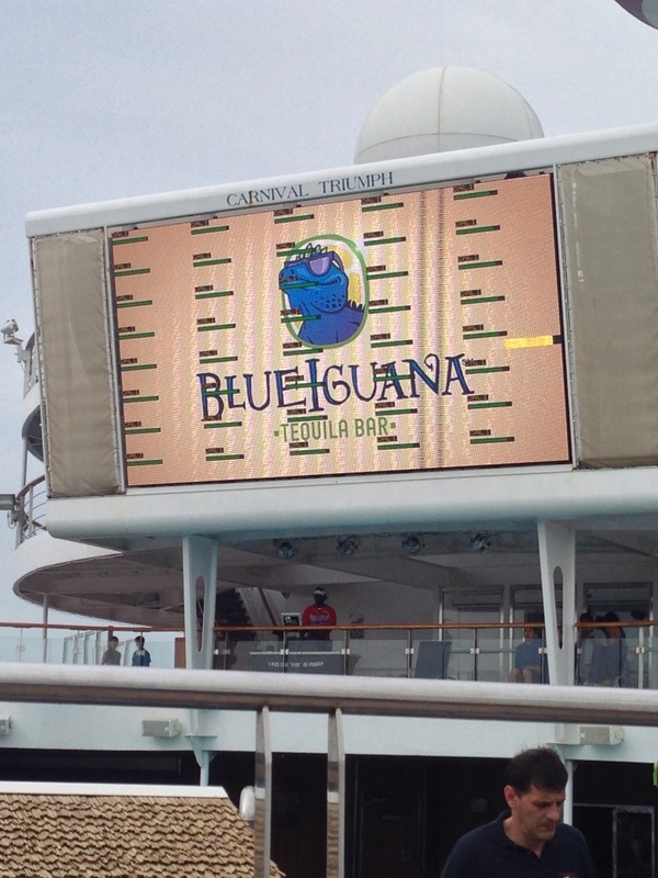 Big Screen - Carnival Triumph