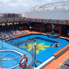 Spa on Carnival Victory