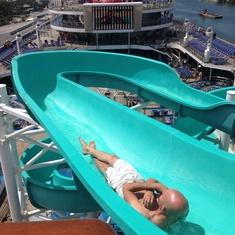 Slide Entrance on Carnival Victory