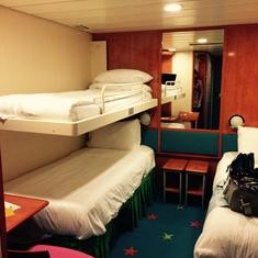 Inside Cabin Norwegian Dawn Category