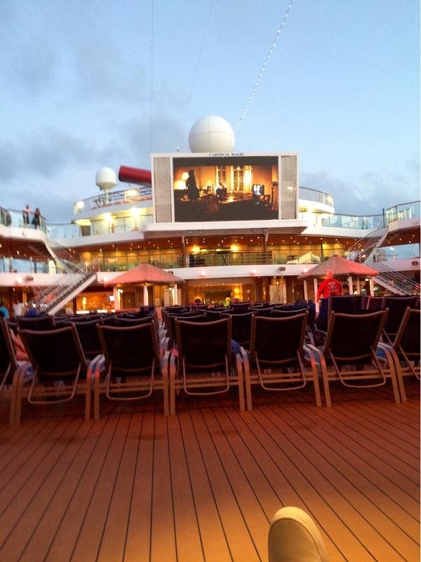 Carnival Magic, Entertainment, SeasideTheater